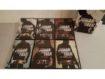 *** BOX MED JOHAN FALK 6 ST DVD ACTION THRILLER *** - Lesjöfors - *** BOX MED JOHAN FALK 6 ST DVD ACTION THRILLER *** - Lesjöfors