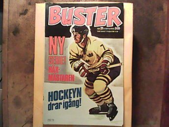 Buster nr 21 1977