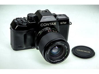 Contax 167MT with Yashica 35-70mm and 135mm F2.8 Lenses,Excellent