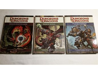 Dungeons and Dragons - Core rulebooks 4:th edition
