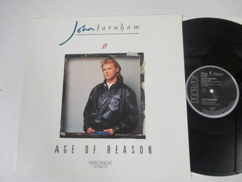 "John Farnham ""Age Of Reason"""