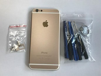 Iphone 6 baksida / batterilucka med verktyg. Guld - Göteborg - Iphone 6 baksida / batterilucka med verktyg. Guld - Göteborg