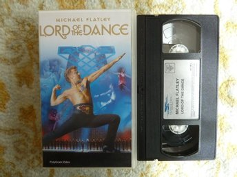 MICHAEL FLATLEY, LORD OF THE DANCE,  , VHS, FILM