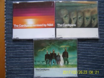 CD - 3 st. The Cardigans cdsinglar
