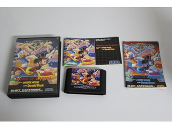 SEGA MEGADRIVE PAL - World of Illusion Mickey Mouse Donald Duck