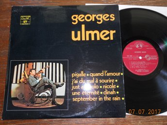 GEORGES ULMER - S/T, Easy Jazz/Chansons LP Concert Hall Frankrike 60-tal