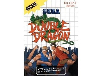 DOUBLE DRAGON (i box) till Sega Master System