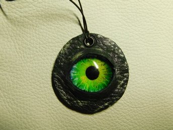 Draköga Hänge Dragon Eye Pendant Nr 2 Feb  ( 50 mm )