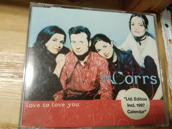 The Corrs - Love To Love You, CD