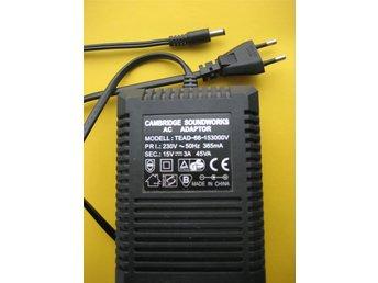 Javascript är inaktiverat. - Skogås - En AC adapter DC ut 15V 3A plugg 5,5 mm - Skogås