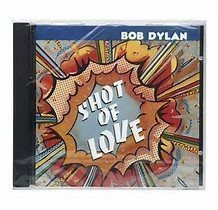CD BOB DYLAN - SHOT OF LOVE - NY INPLASTAD