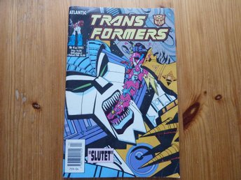 TRANS FORMERS 1991-4