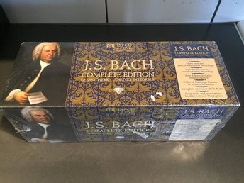 J.S. Bach Complete Edition 157CD+2DVD+DVD-ROM NY/INPLASTAD