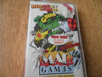 MASTER OF MAGIC MAD GAMES,SPEL TILL COMMENDORE 64/128