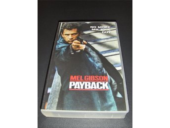 Payback (Mel Gibson) VHS