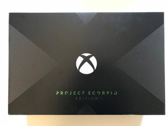 Xbox ONE X Project Scorpio Edition (Day One Edition)