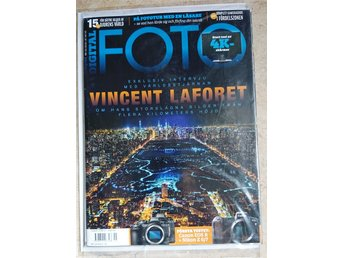 "BONNIER DIGITAL FOTO NR 15 2018 ""VINCENT LAFORT... "" / ny / oläst ex"