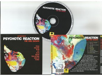 THE FIRE ESCAPE -  PSYCHOTIC REACTION (CD 1967)