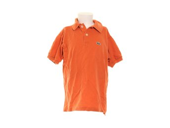 Lacoste, Pikétröja, Strl: 134, Orange