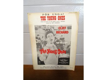 NOTHÄFTE CLIFF RICHARD THE SHADOWS / THE YOUNG ONES