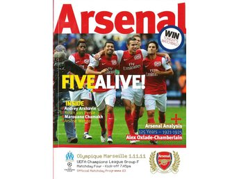 Arsenal - Olympique Marseille (Champions League - 1.11.2011)