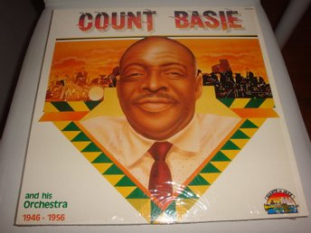 COUNT BASIE AND HIS ORCHESTRA LP 1989 TOPPSKICK!
