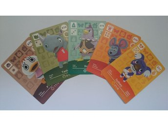 Animal Crossing Amiibo Cards series 4 Nr 373 - 377