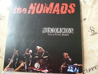 The Nomads - ¡DEMOLICION! Live At El Sol, Madrid, svensk garage, röd vinyl