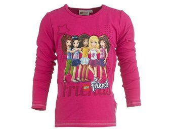 LEGO WEAR T-SHIRT FRIENDS, CERISE (128)