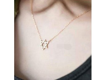 New Arrival Jewish Star of David Charm Pendant Necklace