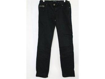 ONLY Svart Jeans/byxor Lätt Stretch stl: 38 - Borlänge - ONLY Svart Jeans/byxor Lätt Stretch stl: 38 - Borlänge