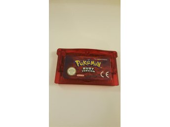 Pokemon Ruby Version Gameboy Advance spel