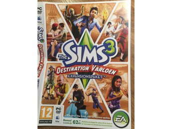 The SIMS 3:  DESTINATION VÄRLDEN - expansionspaket