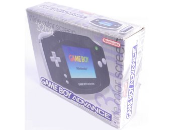 Gameboy Advance Console (Black) -  - PAL (EU)