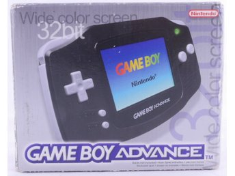 Game Boy Advance konsoli (musta) -