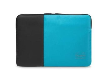 "Targus 15.6"" Pulse Laptop Sleeve Black and Atoll Blue"