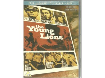 DVD --THE YOUNG LIONS--MARLON BRANDO,MONTGOMERY CLIFT,DEAN MARTIN mfl