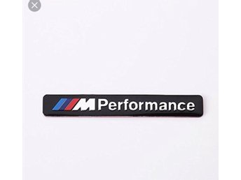 BMW M sport / M performance Metall Emblem