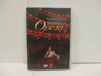 Dame Kiri Te Kanawa - My World Of Opera - MKT FINT SKICK!