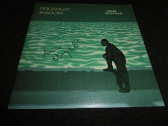 "Mike Oldfield - Moonlight shadow - 7"" - 1983 - Signerad"