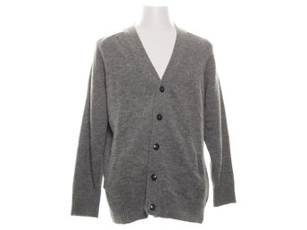 Homebound, Cardigan, Strl: L, Sunrise, Grå, Ull/Nylon