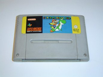 Super Mario World Super Nintendo SNES PAL