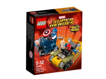 LEGO® Super Heroes Captain America mot Red Skull 76065