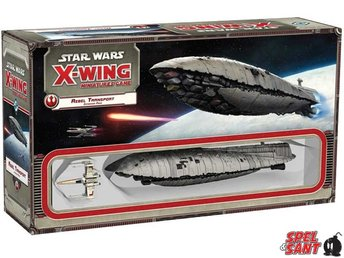 Star Wars X-Wing Miniatures Game Rebel Transport Expansion
