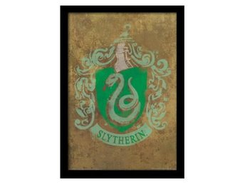 Harry Potter Inramad Bild Slytherin Crest