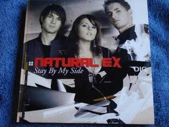 Natural Ex - Stay by my side, 3tr CDS - Ny!