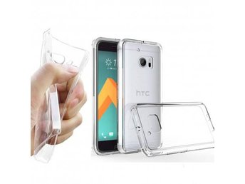 HTC 10 Silikon skal Transparent Färg: Transparent