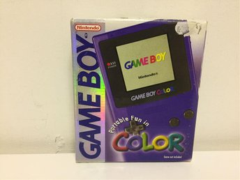Lila Gameboy Color - Toppskick - Svensksåld - SCN