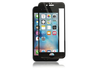Panzer F-F Curved Silicate Glass Screenprotector iPhone 6S/6 - Svart