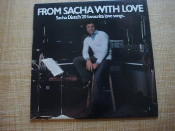 LP:n Sacha Distel med From Sacha with love